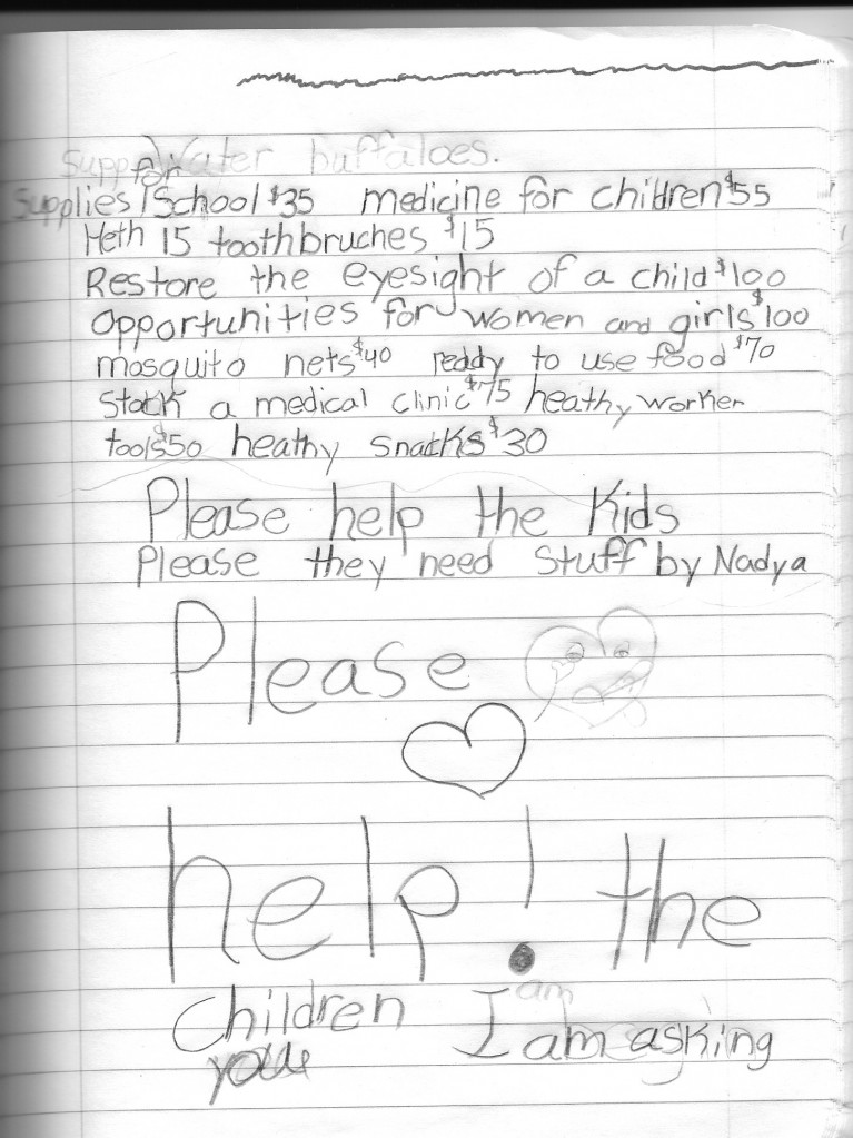 Nadya's Wish List